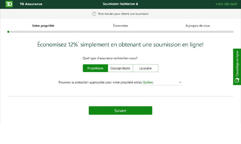 Online Insurance (TD)